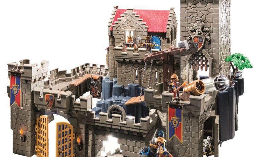 Château des Chevaliers, un château playmobil pour les petits garçons